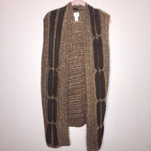 Chico's could size 3 knit sweater long vest